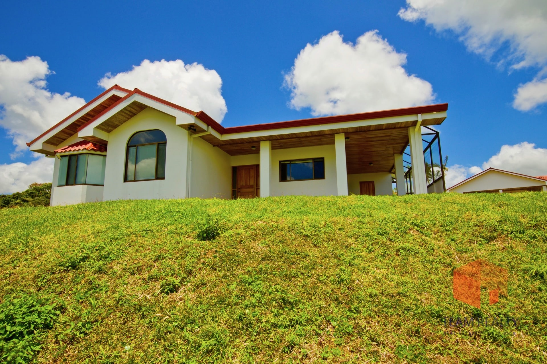 Gated Lake & Volcano view three bedroom home move in ready, fully furnished